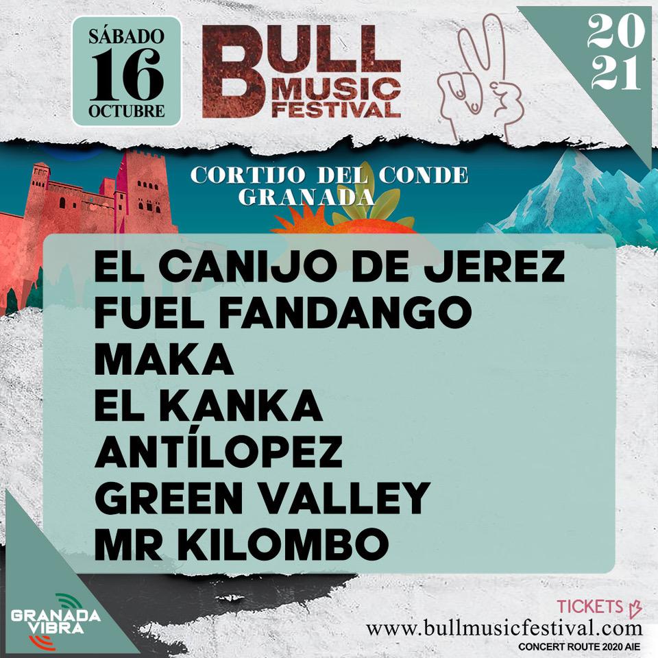 BULL MUSIC FESTIVAL cierra un cartel espectacular con las nuevas confirmaciones de EL KANKA, FUEL FANDANGO, MALA RODRIGUEZ y AYAX y PROK